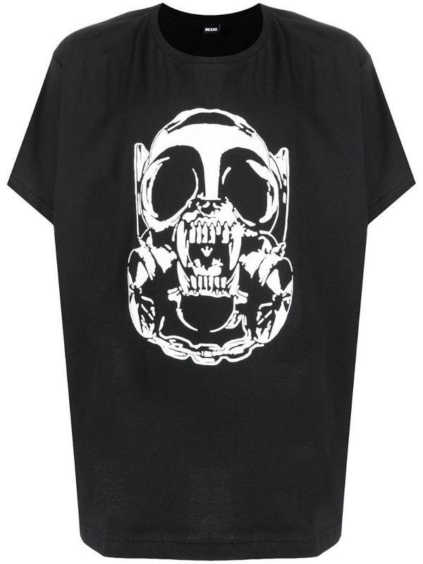 KTZ Nuclear Face unisex T-shirt in black