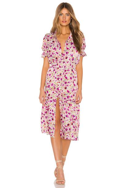 MISA Los Angeles Melvari Dress in pink