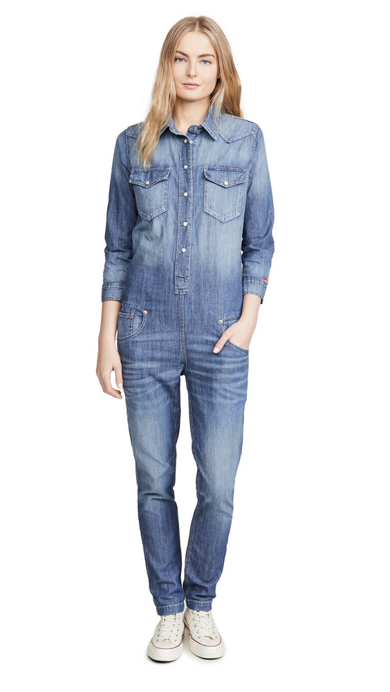 Denimist Cowboy Jumpsuit in indigo