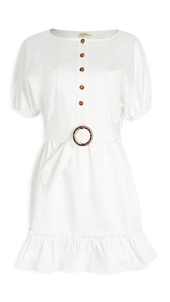 Shoshanna Isa Dress in white