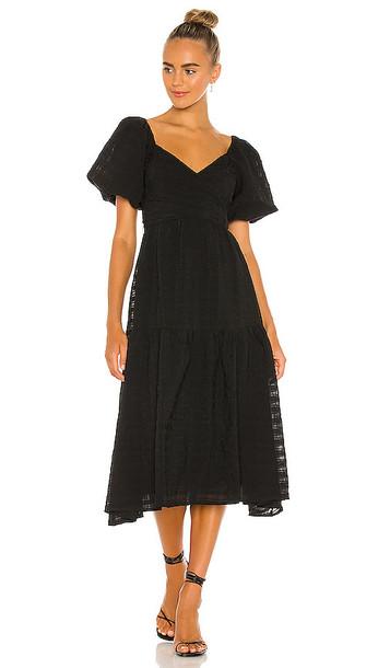 ASTR the Label Sonnet Dress in Black