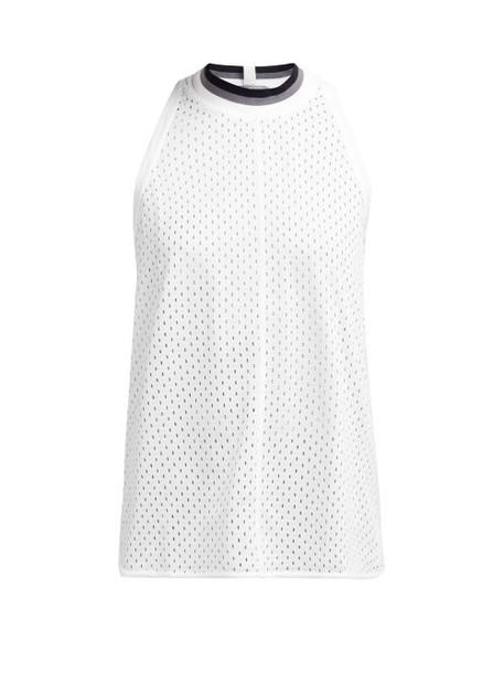 Adidas By Stella Mccartney - Training Mesh Tank Top - Womens - White