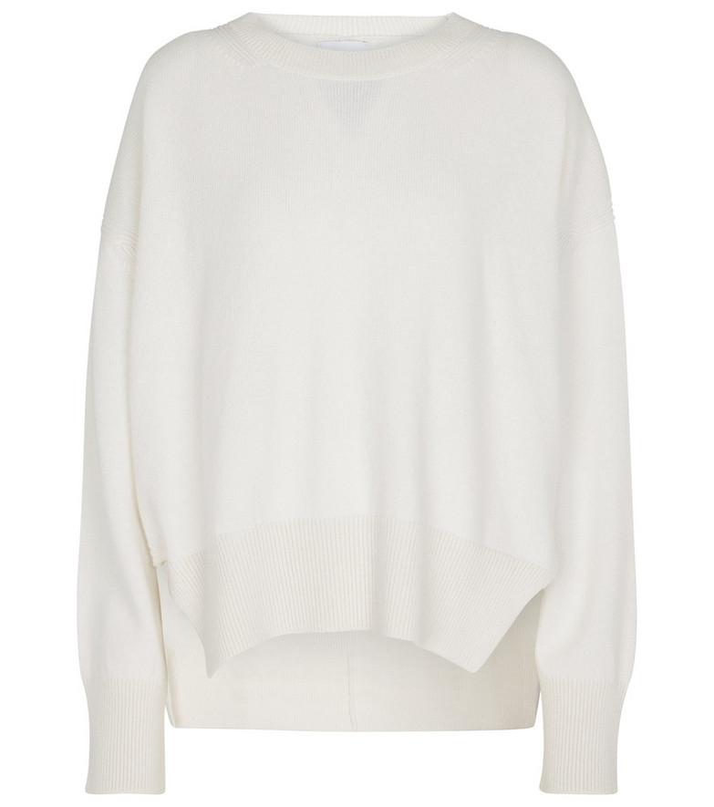Barrie Cashmere sweater in white