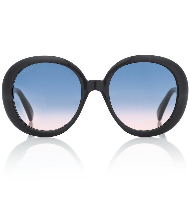 Gucci Round sunglasses in black