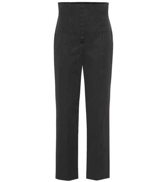 Racil Stevie stretch-cotton pants in black