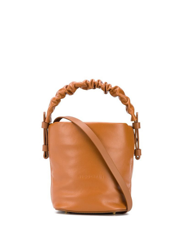 Nico Giani Adenia mini bucket bag in brown