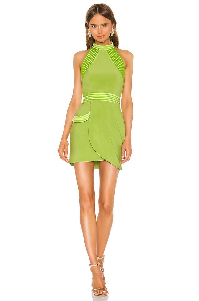 Zhivago Algeny Mini Dress in green
