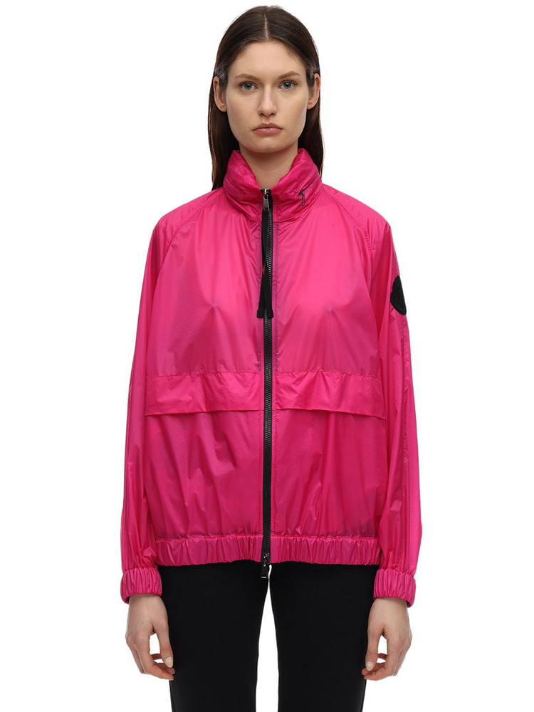 MONCLER Groseille Nylon Jacket in fuchsia