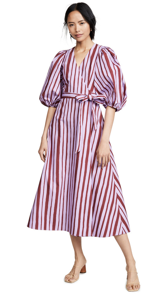 Beaufille Desina Dress in lilac / burgundy