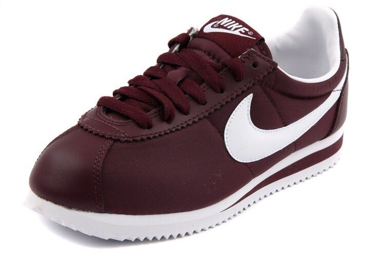 shoes burgundy sneakers nike