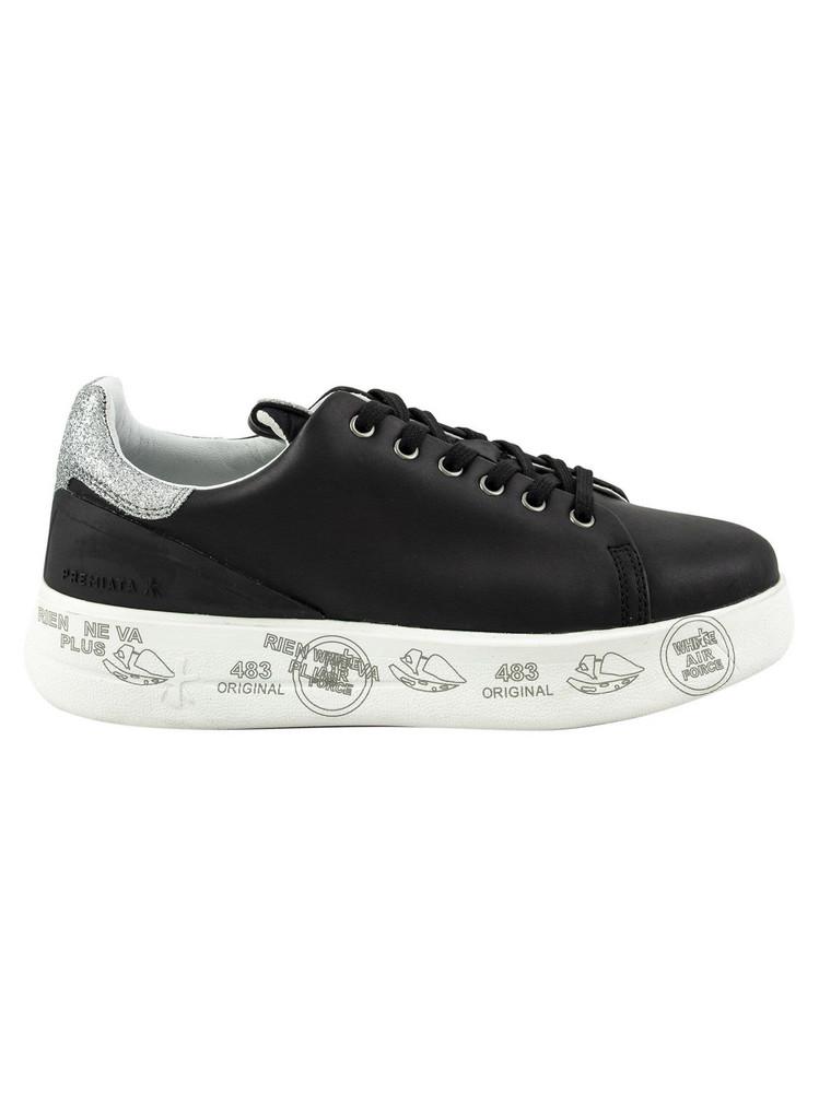 Premiata Conny Platform Sneakers in black