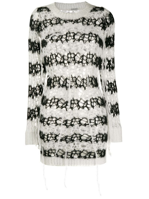 Faith Connexion loose knit sweatshirt in black