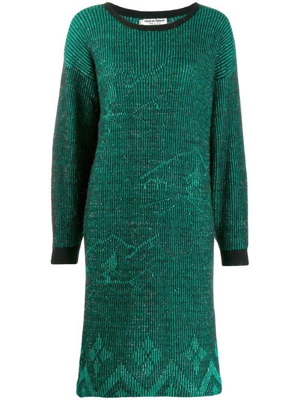 Giorgio Armani Pre-Owned 1980'S Armani dress in green
