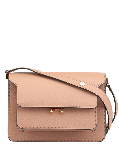 Marni Noos Trunk Bag in brown