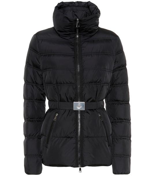 Moncler Alouette down jacket in black