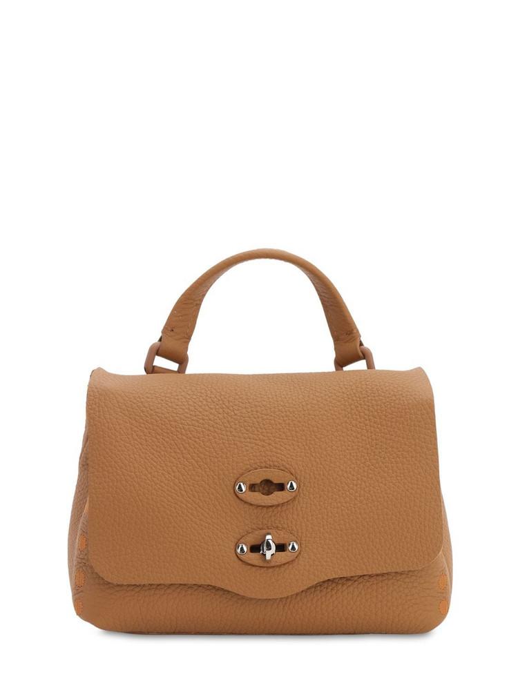 ZANELLATO Postina Baby Pura Leather Top Handle Bag