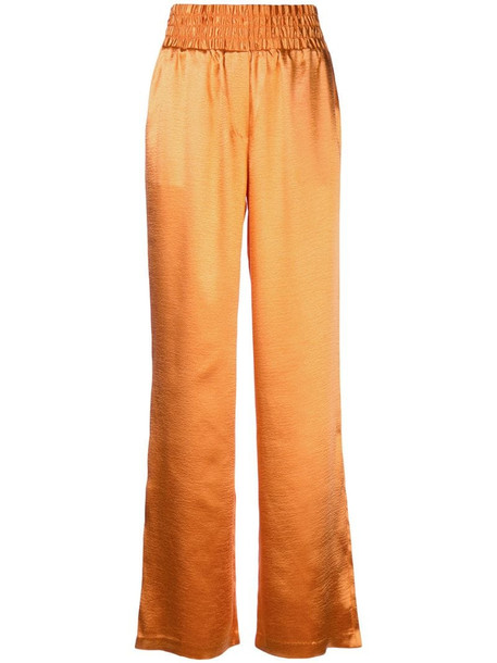 Cinq A Sept Kylie trousers in orange
