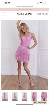 dress,pink