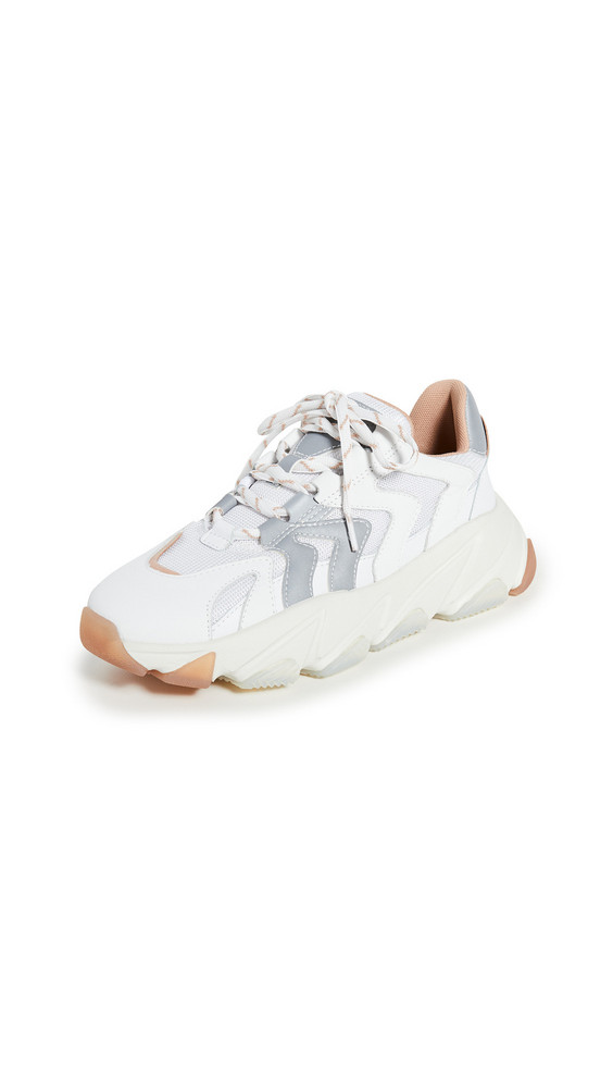 Ash Extreme Sneakers in silver / white