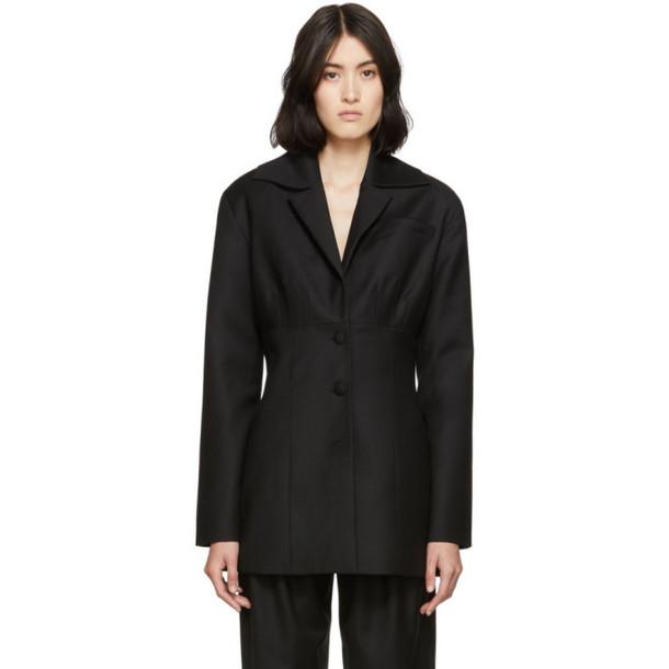 Materiel Tbilisi Black Corset Blazer