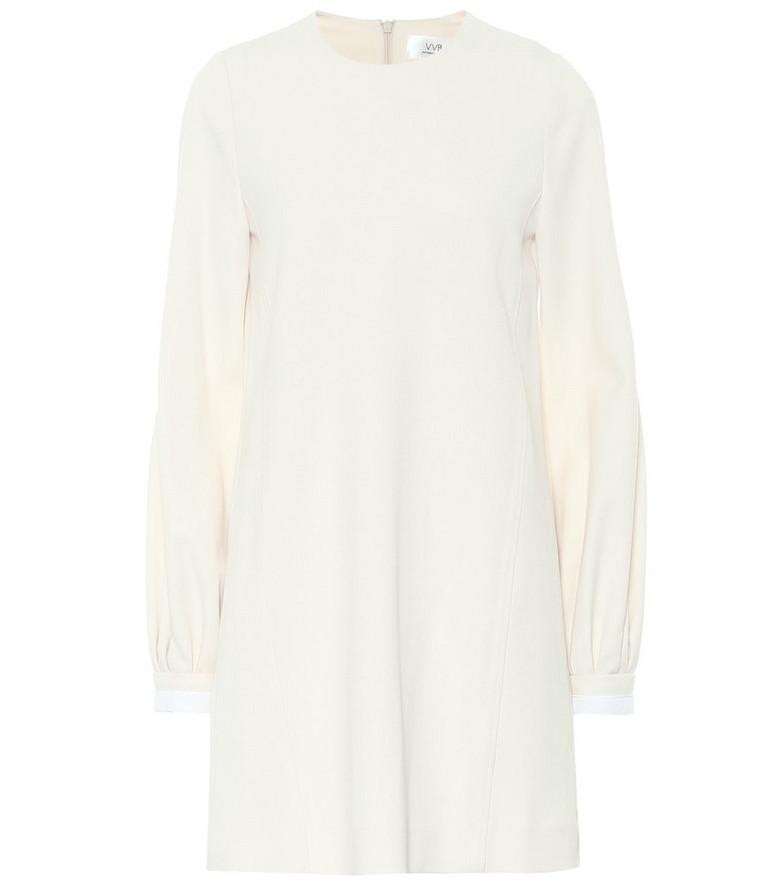 Victoria Victoria Beckham Crêpe midi dress in white