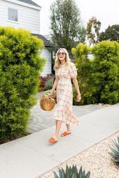 modern ensemble,blogger,dress,shoes,bag,sunglasses,jewels