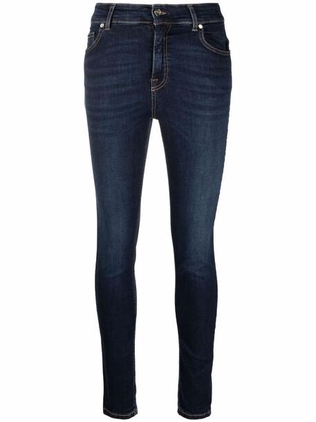 Blugirl mid-rise skinny jeans - Blue