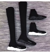 shoes,black,sneakers,balenciaga