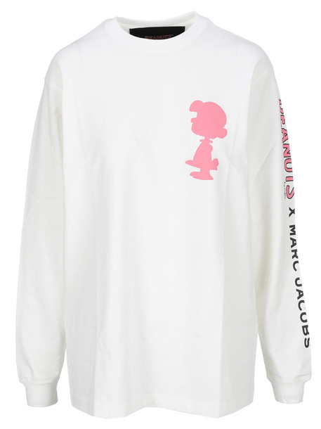 Marc Jacobs Snoopy Sweater in white