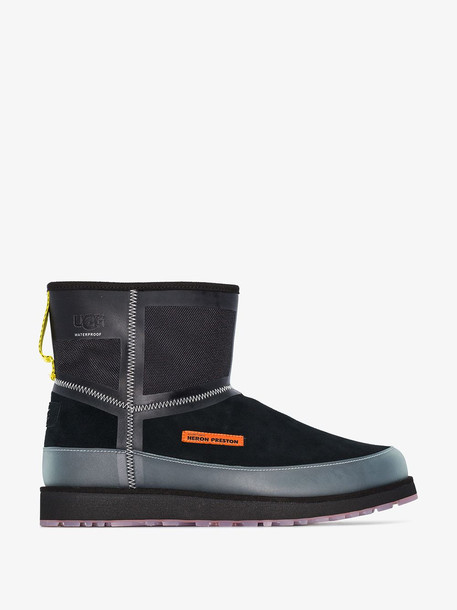 Heron Preston X UGG black classic mini tech boots