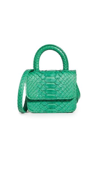 Gelareh Mizrahi Micro Mini Top Handle Bag in green
