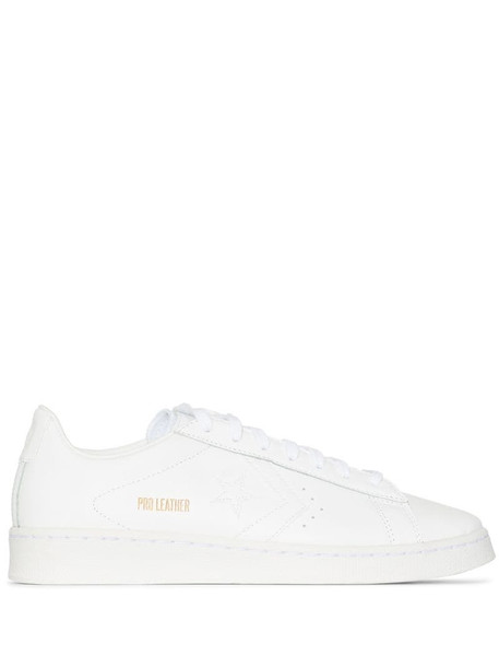Converse Pro low-top leather sneakers in white