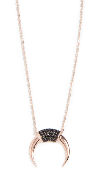 Nickho Rey Seville Bull Necklace in black / gold / rose