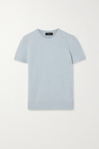 Theory - Cashmere Sweater - Sky blue
