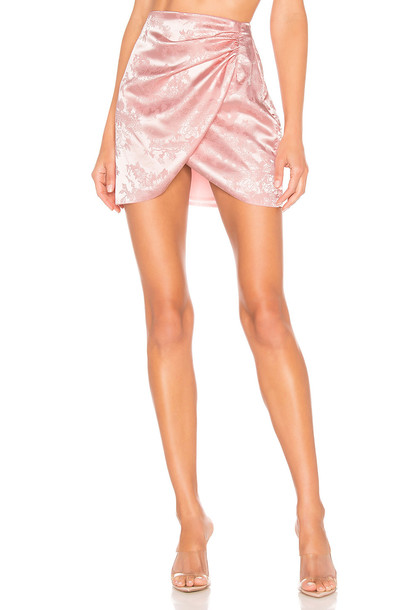 superdown Easton Mini Skirt in pink
