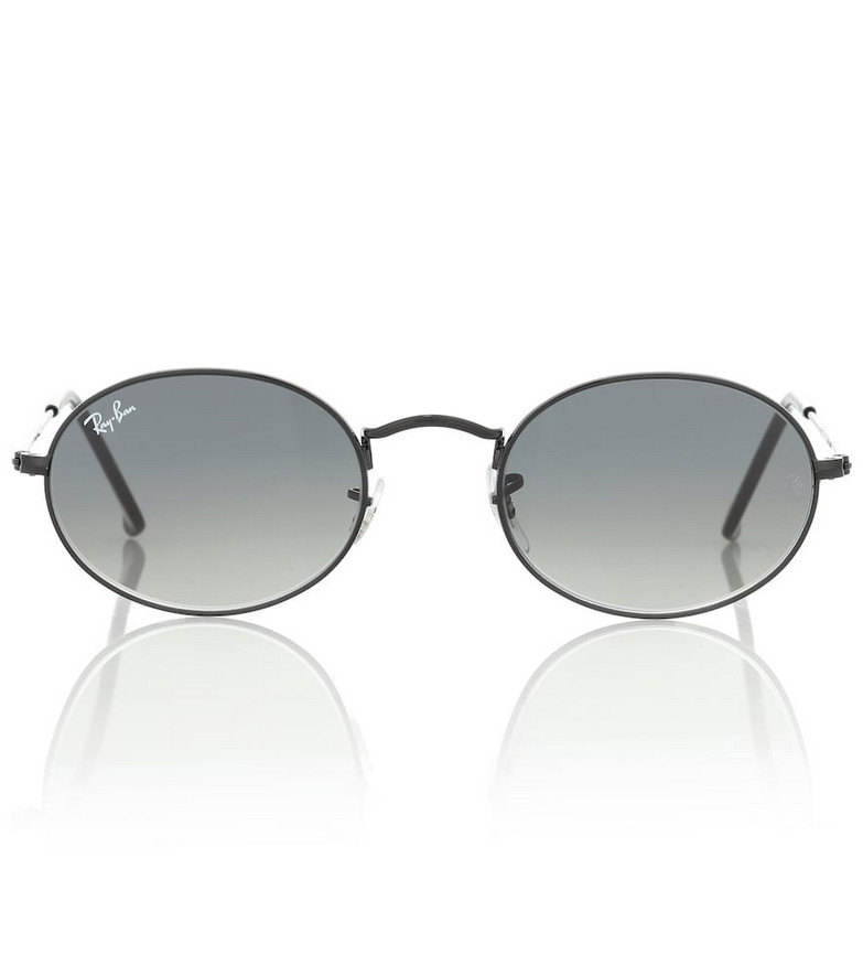 Ray-Ban RB3547N Oval Flat sunglasses in grey