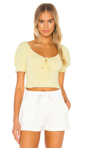 Privacy Please Diani Top in Yellow