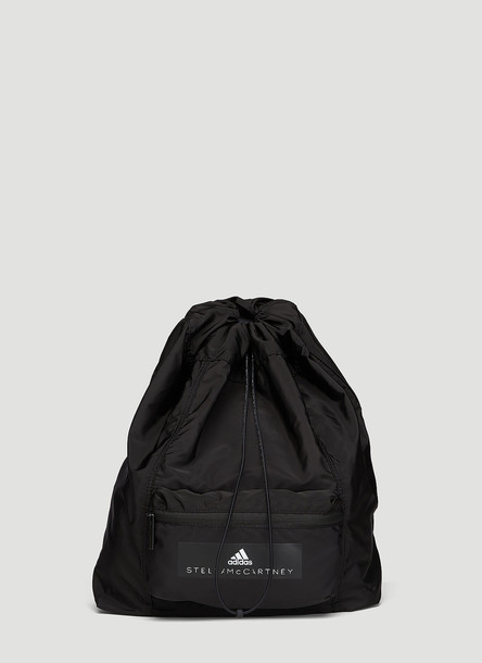 adidas by Stella McCartney Gymsack Backpack in Black size One Size