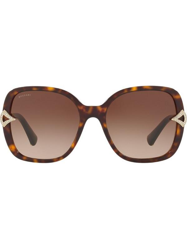 Bvlgari Divas sunglasses in brown