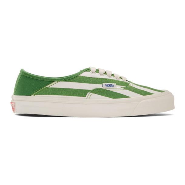 Vans Green OG Style 43 LX Sneakers