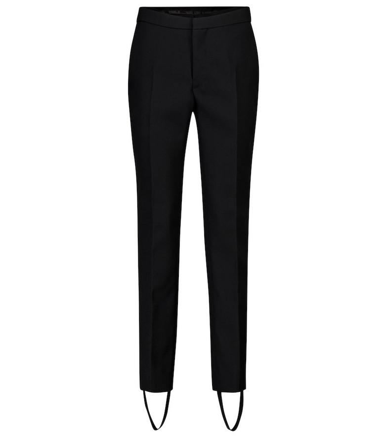 WARDROBE.NYC Release 05 high-rise merino wool pants in black