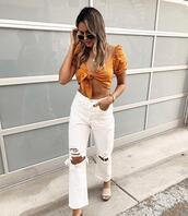 shoes,top,jeans