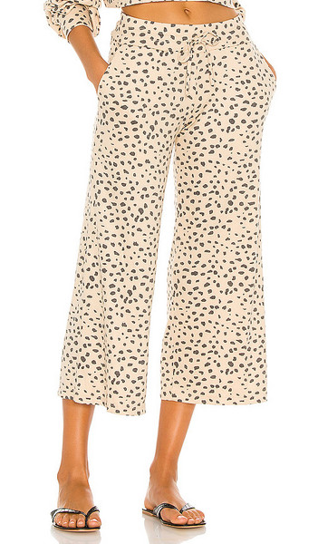 BEACH RIOT Hailey Pant in Tan in taupe