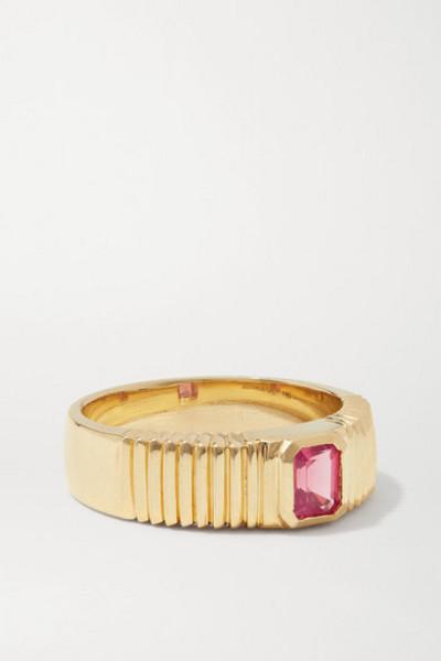 Retrouvaí Retrouvaí - 14-karat Gold Spinel Ring