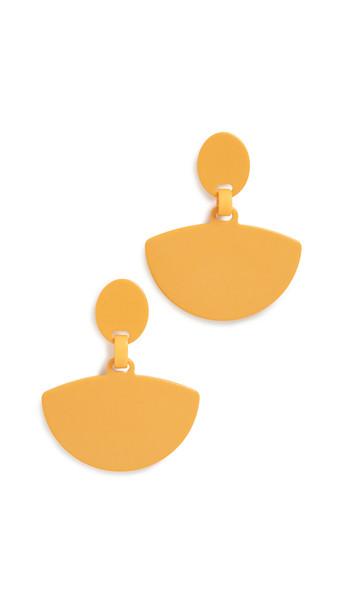 Simon Miller S749 Fan Earrings in yellow