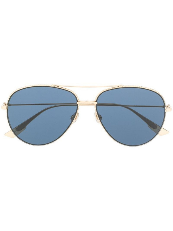 Dior Eyewear aviator-frame sunglasses in gold