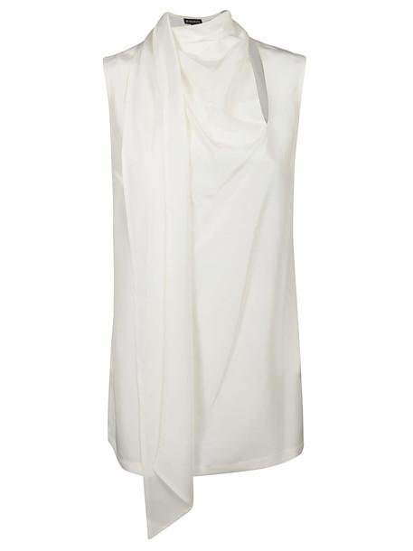 Ann Demeulemeester Narni Top in white