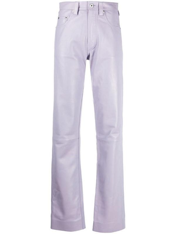 Kwaidan Editions straight-leg trousers in pink