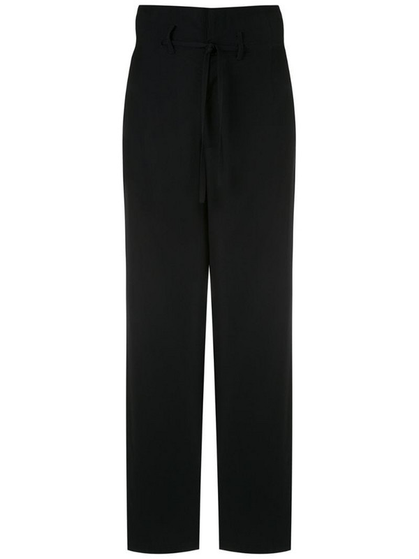 Uma - Raquel Davidowicz Arkansas wide leg trousers in black