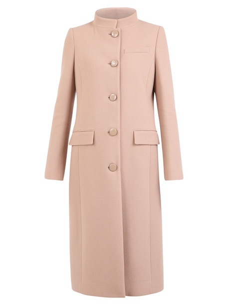 Givenchy Single-breated Coat in beige